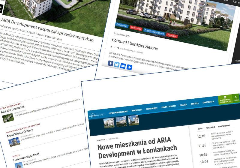 Prasa o ARIA Development!